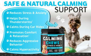 Artulano calming chews support your pet